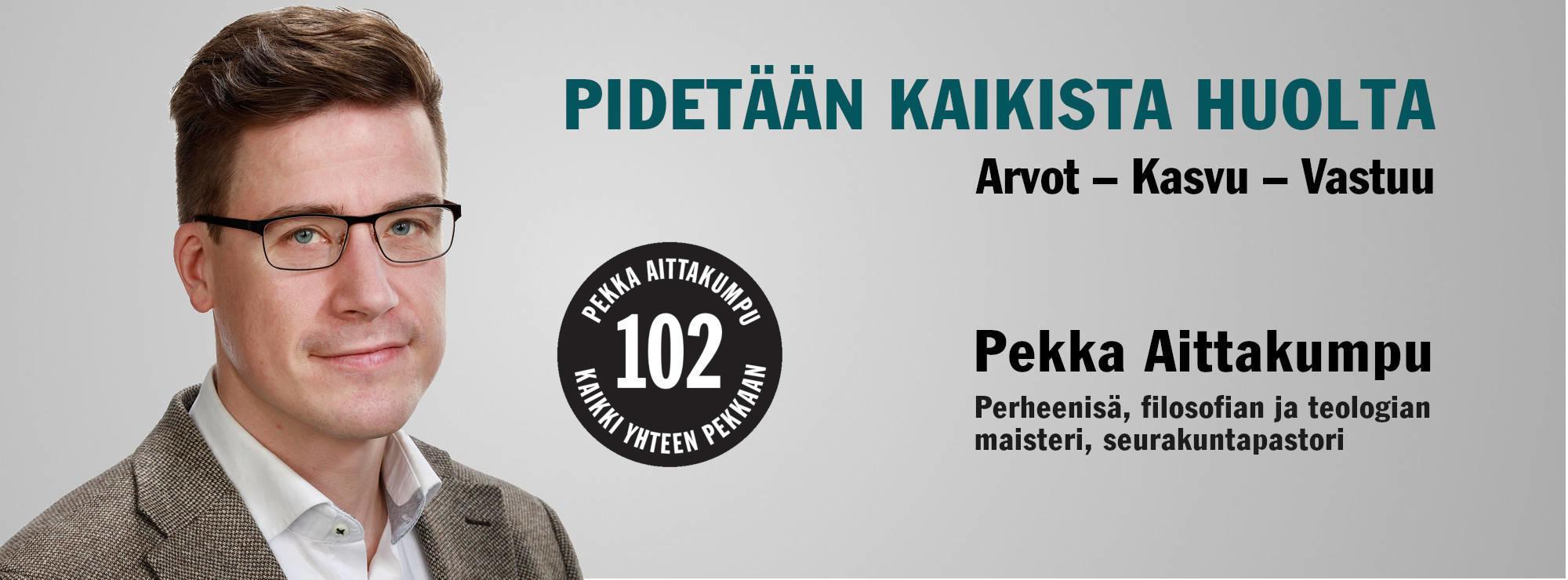 Pekka Aittakumpu, eduskuntavaaliehdokas 2019, keskusta